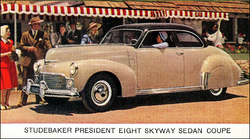 1942 studebaker President Skyway Sedan Coupe