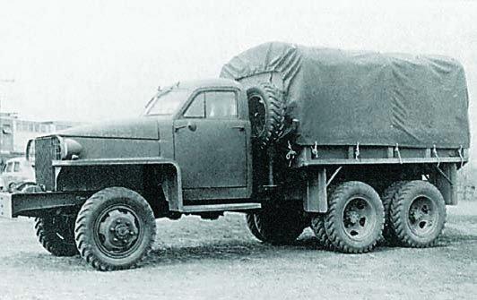 1942 Studebaker US6.U2, 6x6