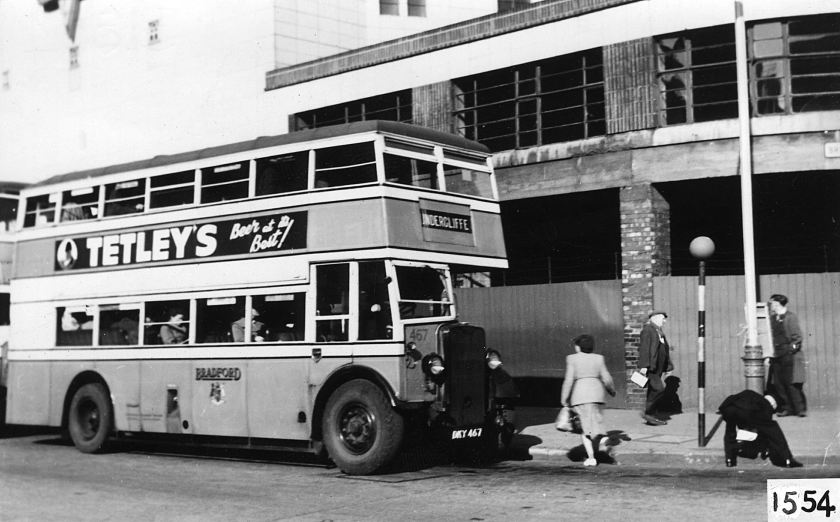 1943 Bradford Guy Arab 1, Fleet No 467, Reg No DKY 467.