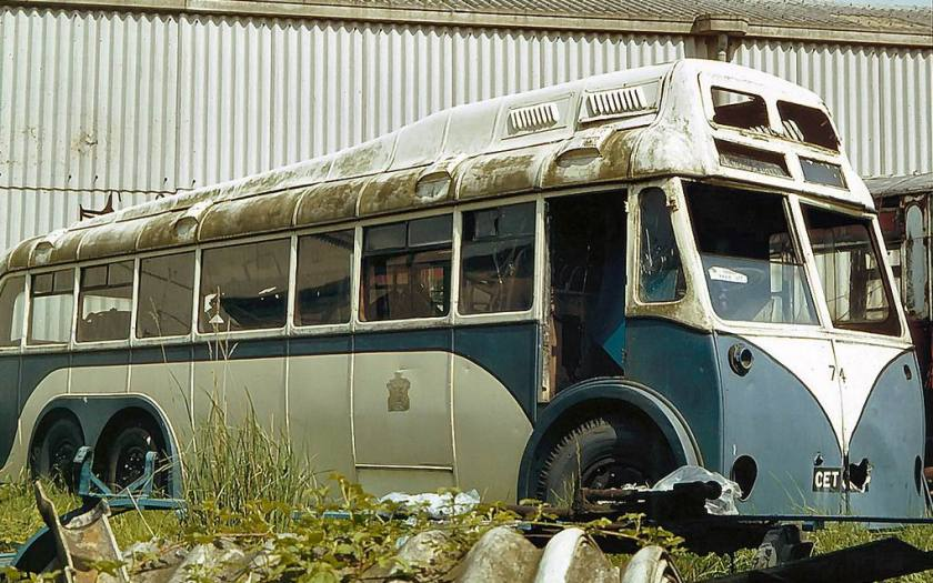 1943, Rotherham 74 (CET613) is Sunbeam MS2C, with what I believe to be an East Lancs bod