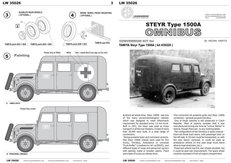 1943 Steyr 1500 A