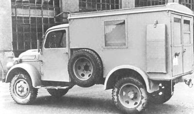 1943 Steyr Type 1500A Kfz.31 Ambulance a