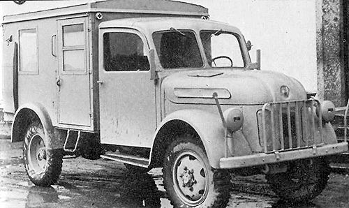 1943 Steyr Type 1500A Kfz.31 Ambulance