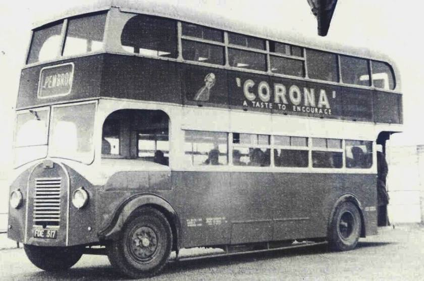 1943 Strachan utility L27-28R body so extensively rebuilt by Silcox by 1956 into the condition shown that it is no longer recognisable as of Strachan origins