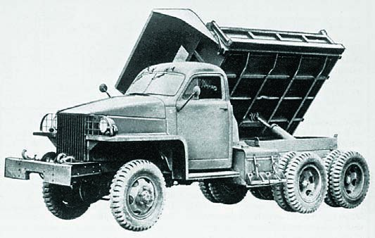 1943 Studebaker US6.U13, 6x6