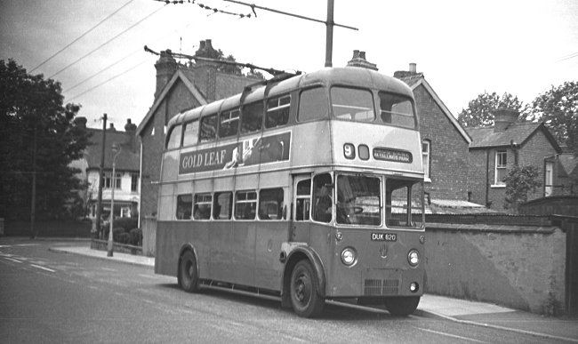 1945 Sunbeam bus with a W4 chassis and a Park Royal body