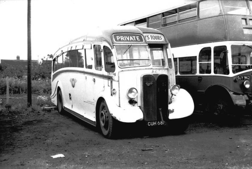 1946 AEC O662 Regal with Harrington C33F body