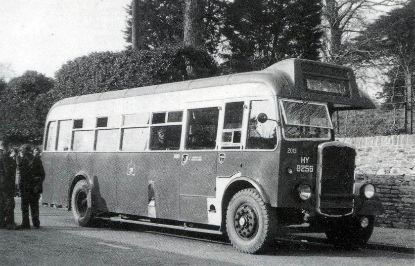 1946 Bristol Bus No.2013 HY 8256