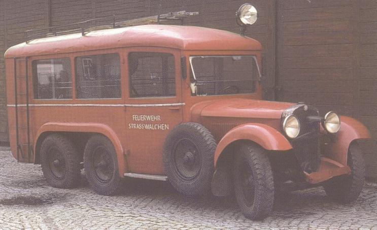 1946 Steyr-640 fire bus