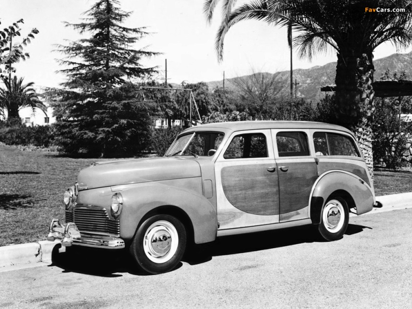 1946 studebaker champion station wagon