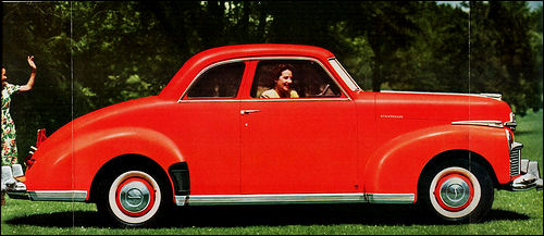 1946 studebaker skyway champion coupe