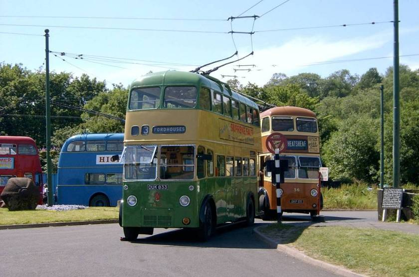 1946 Sunbeam W trolleybus, rebodied by Roe in 1959