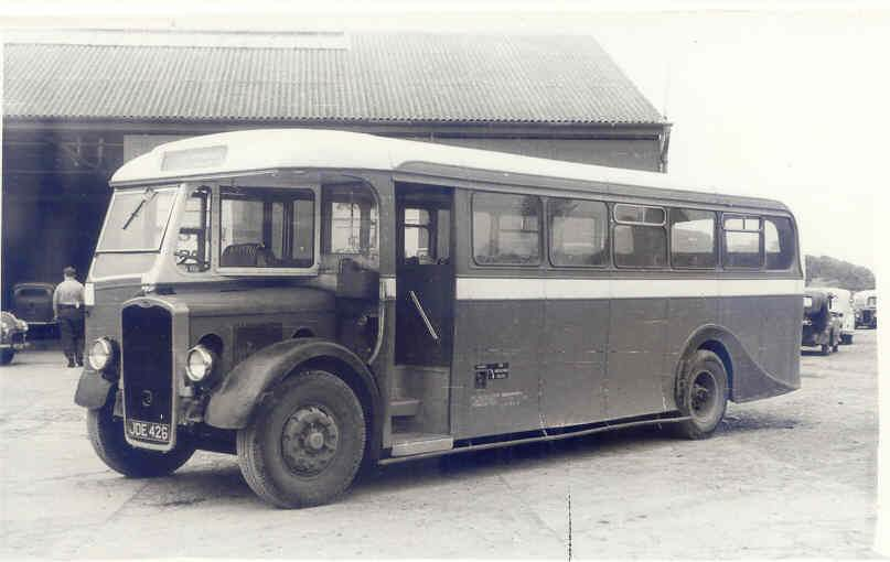 1947 33 JDE426 Bristol L5G Strachan DP35F