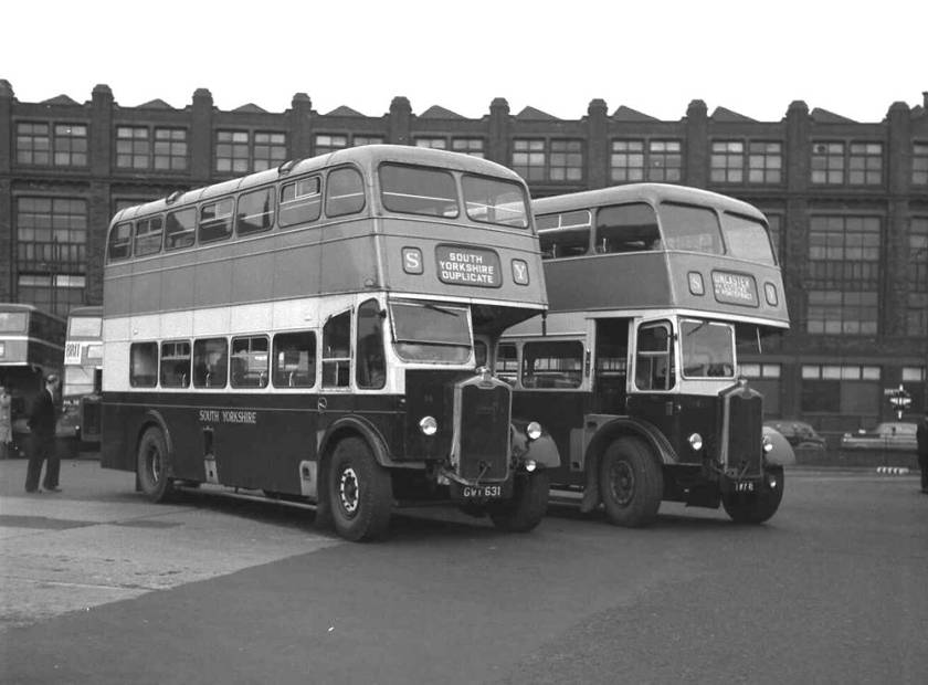 1947 56 was a Strachan L27-28R bodied Albion CX19 whilst 81 was the Roe L27-26RD rebodied single-deck Albion CX39N chassis