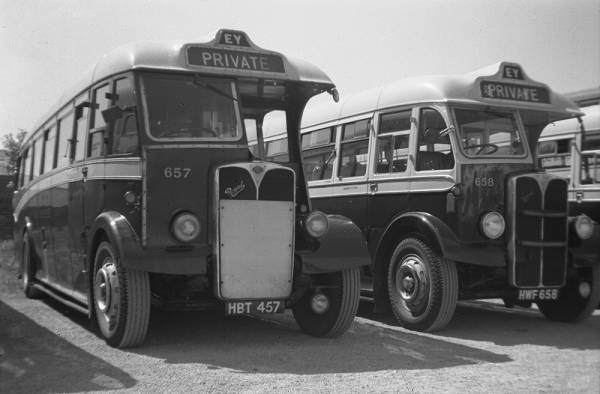 1947 AEC Regal IIIs with Barnaby body