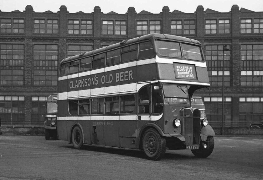 1947 AEC Regent with Strachan L27-28R body a