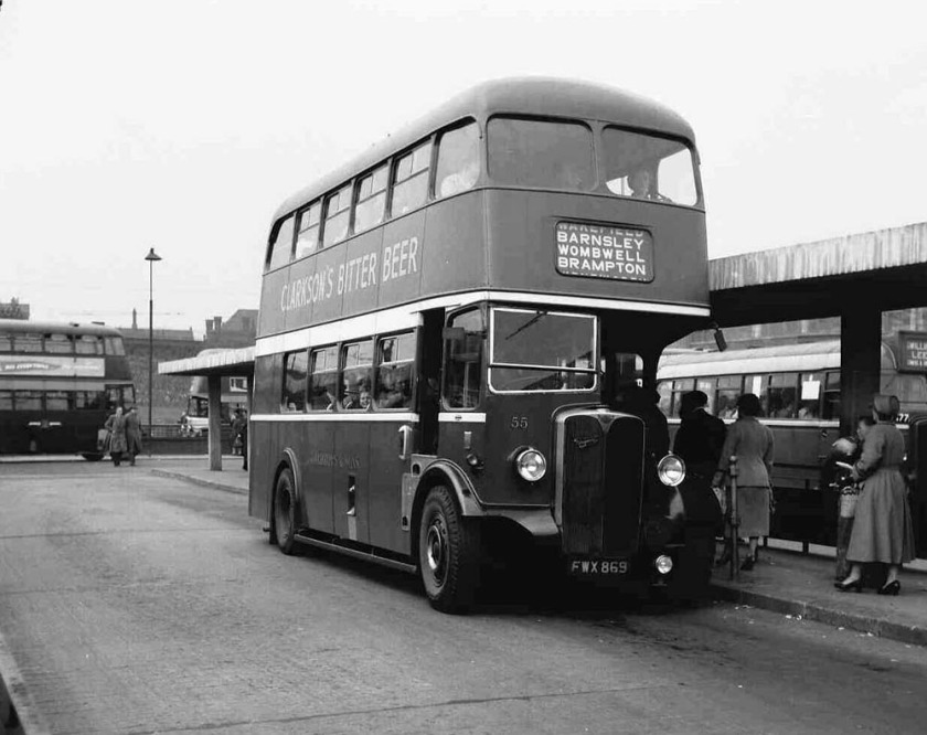 1947 AEC Regent with Strachan L27-28R body