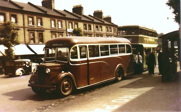 1947 Commer Q4 (P6 engined)Heaver LPU691