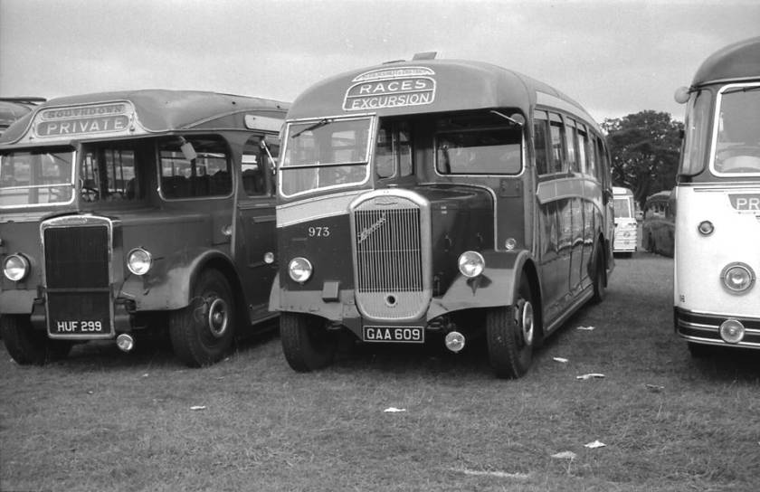 1947 Dennis J3 Lancet with a Strachan C32R body