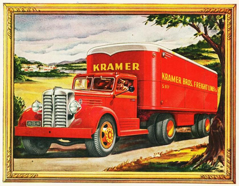 1947 federal Tractor Trailer