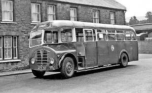 1947 Foden PVSC5 with Saunders B36F body
