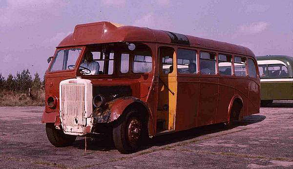 1947 Leyland Tiger PS1 with Barnaby B35F body
