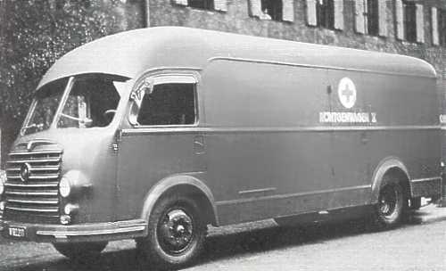 1947 Steyr 480bh4 Röntgenbus
