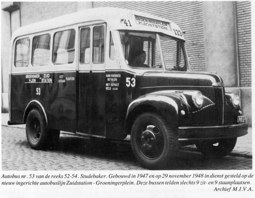 1947 Studebaker Bus
