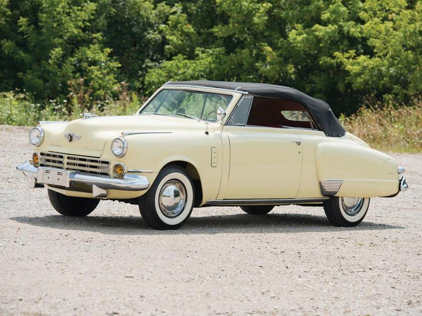 1947 STUDEBAKER COMMANDER REGAL DELUXE CONVERTIBLE