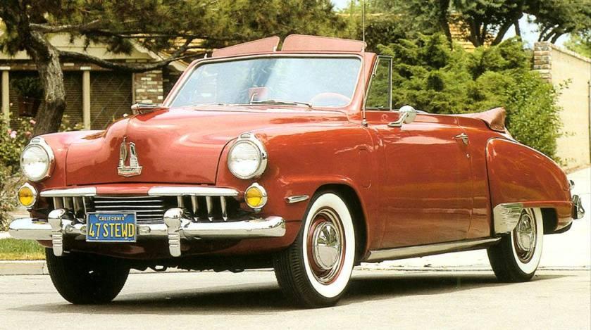 1947 Studebaker convirtible