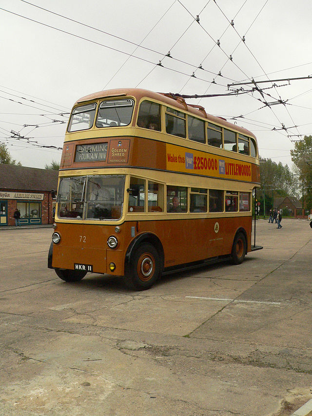 1947 Sunbeam Maidstone trolleybus