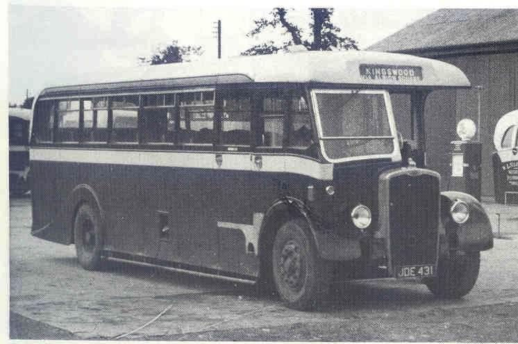 1948 38 JDE 431 Bristol L5G Strachans