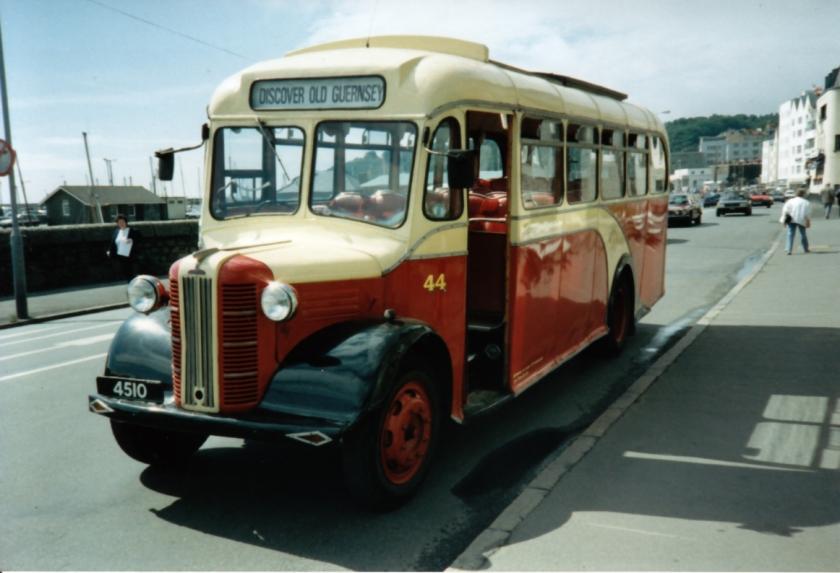 1948 4510 Austin CXB Barnard B33F 1948-1969