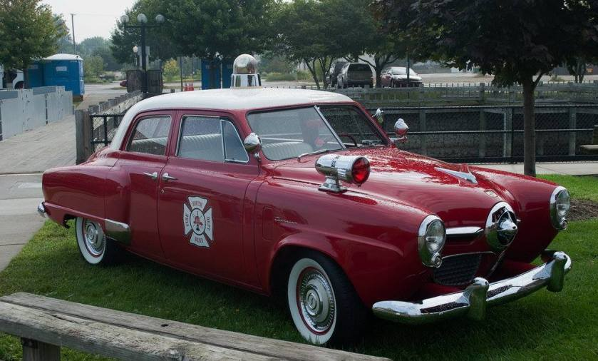1948-49 Studebaker Fire Chief's car