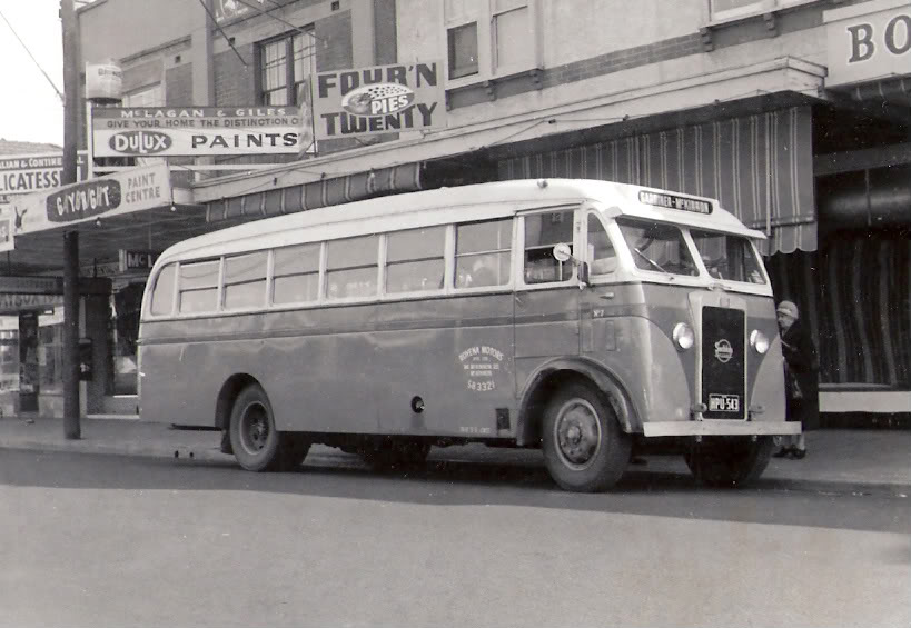 1948-74 Seddon Bus in Victoria HPU543