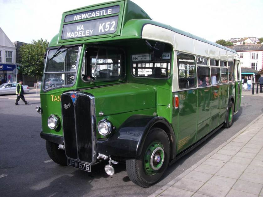 1948 AEC Regal III Strachans B35R JFM575 Crosville