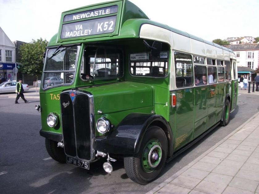 1948 AEC Regal III Strachans B35R JFM575 Crosville