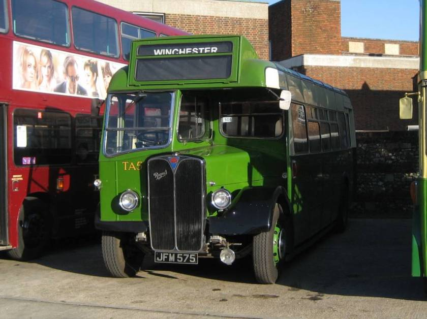 1948 AEC Regal III with Strachan B35R body