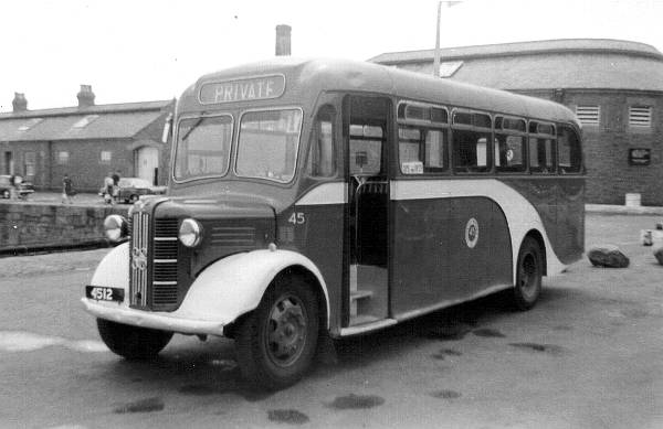 1948 Austin CXB with a Barnard B33F body.