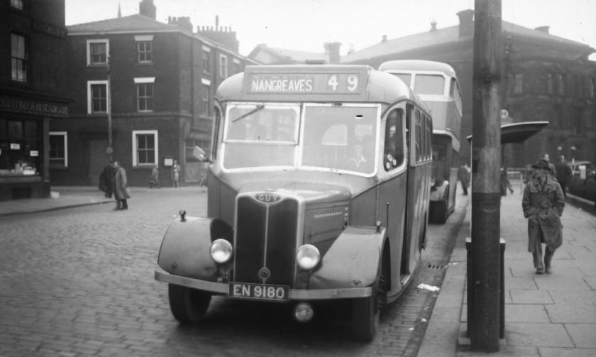 1948 EN 9180 Guy Wolf Barnard B20F 1948-1954