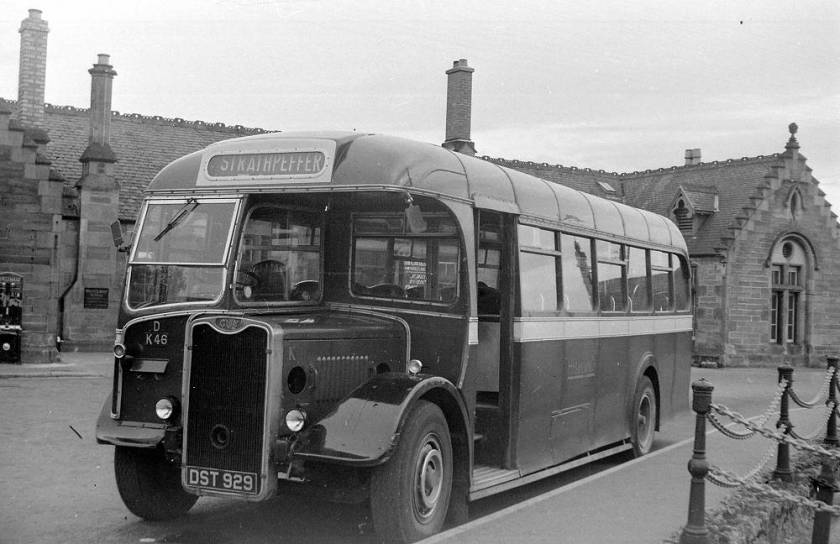 1948 Guy Arab III single decker with Strachans B34F body