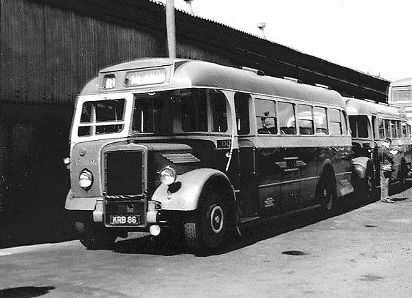 1948 Leyland PS1 with Saunders B35F bodywork