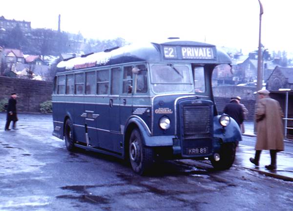 1948 Saunders DP35F bodied Leyland PS1-1 Tiger