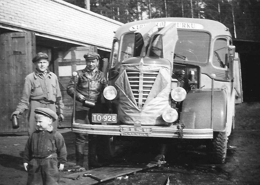 1948 Sisu huolto