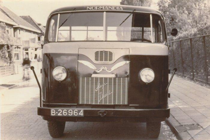 1948 Steyr Diesel Bus carr Brouwers Holwerd 1948