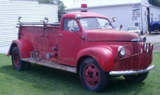 1948 Studebaker M16 Pirsch Fire Truck