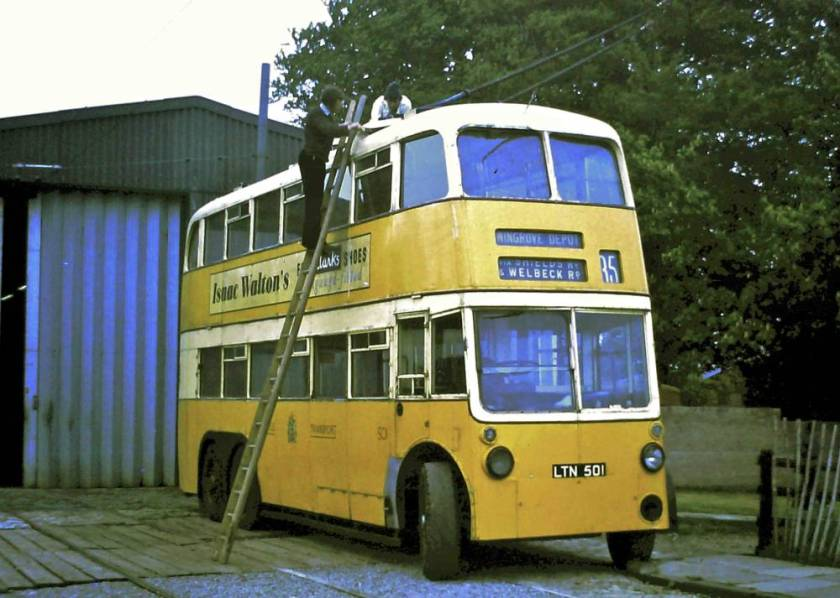 1948 Sunbeam-NCB trolleybus 501