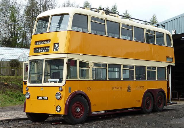 1948 Sunbeam S7 Trolleybus