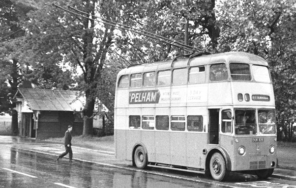 1948 Sunbeam trolleybus with a W4 chassis and a Park Royal body