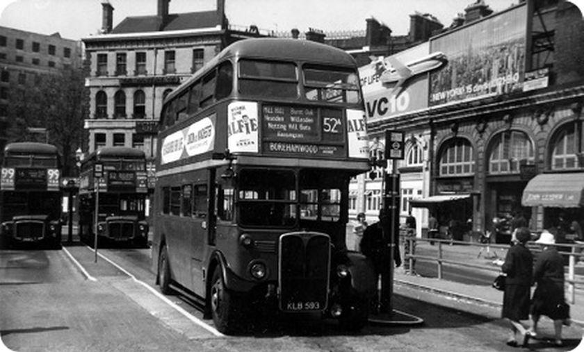 1949 AEC Regent IIIRT KLB593 Saunders RT3-3